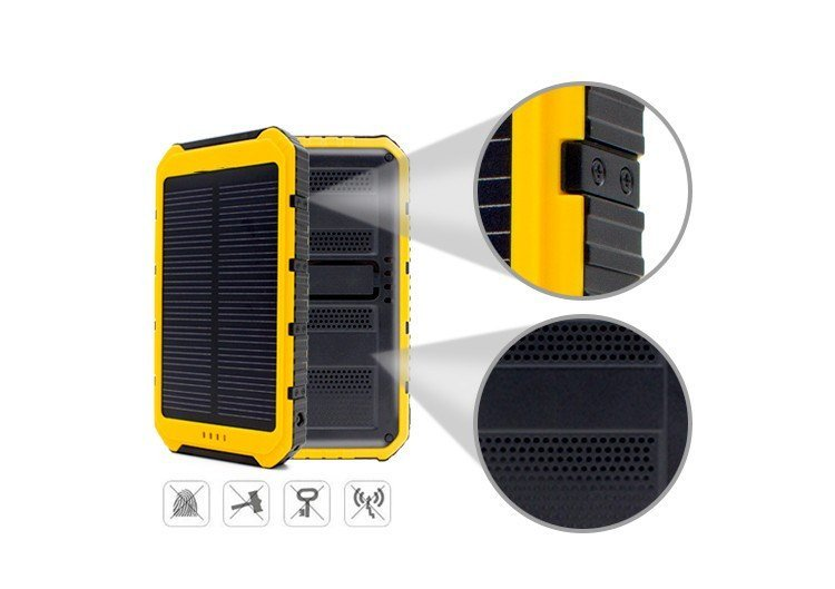 on sale de19a 36f09 Waterproof Solar Phone Charger